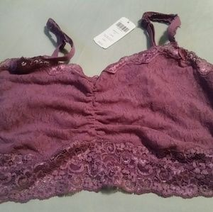 Soma lace bralette NWT